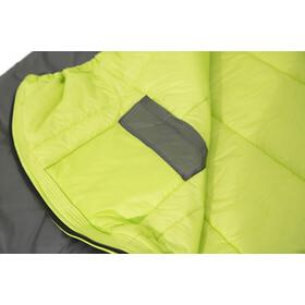 Carinthia G 90 Saco de Dormir L, gris/amarillo